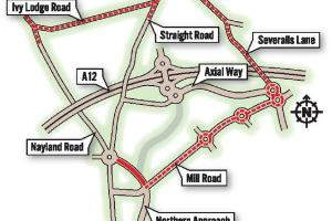 Tailbacks as Northern Approach Road closes for at least three weeks