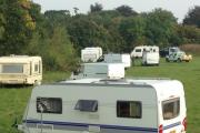 Police arrive to speak to travellers by Weston Homes Community Stadium