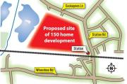 Overdevelopment fears as plans for 150 new homes in village revealed