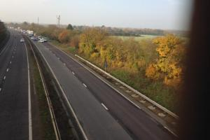 Updated: A12 at Colchester reopened following search for man on carriageway