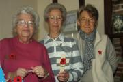 Poppy Appeal collectors Winsome Grimwood, Janet Smith and Pat Threadgill