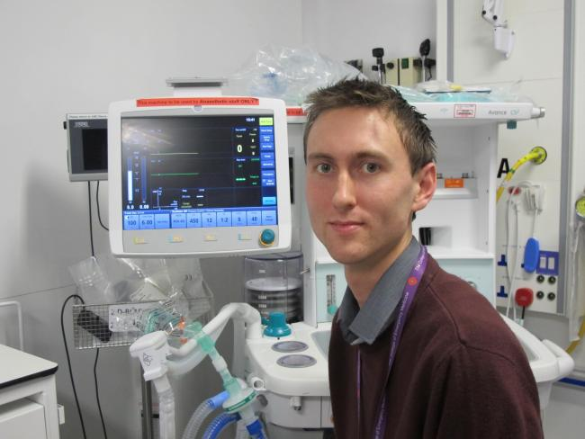 Dr Neil flies off to join the fight against ebola virus