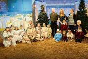 Pupil's shine with television nativity