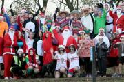 Fun runners got in the festive spirit at Great Notley Country Park