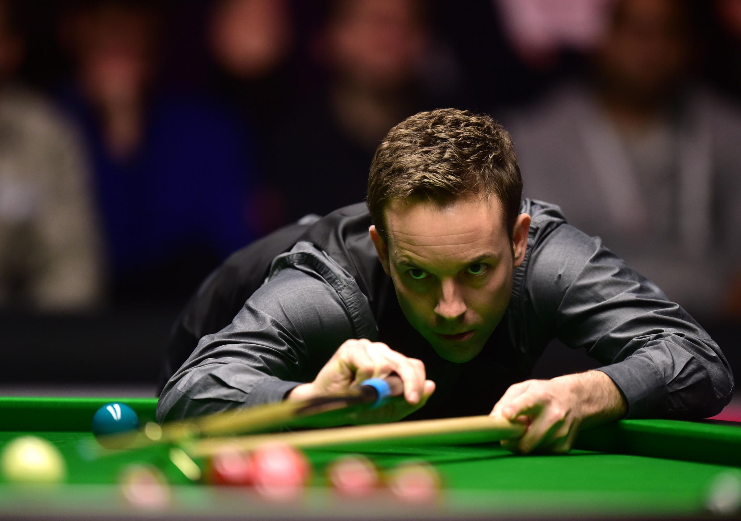 Ali Carter kost 6-1 to world number one Neil Robertson at the Masters