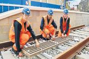 Highly rated – apprentices on the railway course at Prospects College