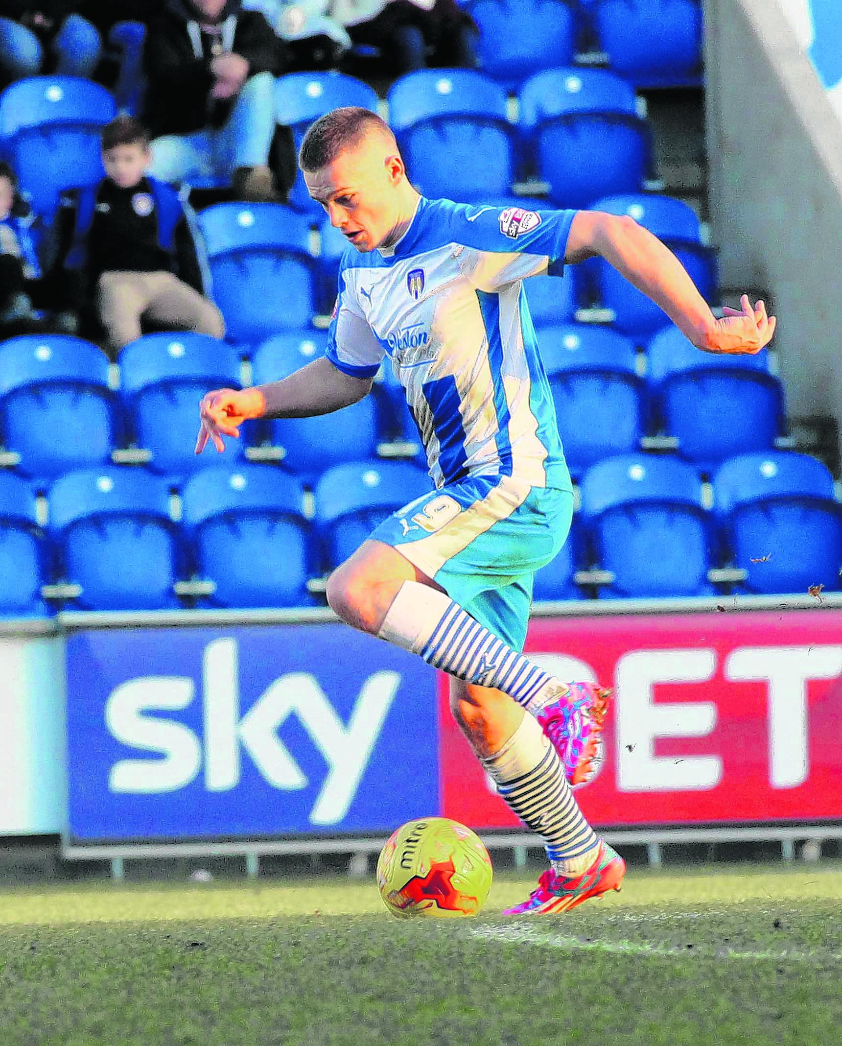 Farewell - Rhys Healey's loan spell at Colchester United has ended after he was recalled by parent club Cardiff City.