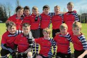 SHOWING THEIR SKILLS: Harwich's under-11s.