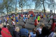 Did you run the London Marathon today?