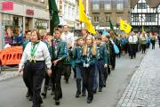 VIDEO: Hundreds of scouts parade through Colchester town centre