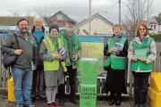 Green candidate joined by activists to campaign against health service cuts