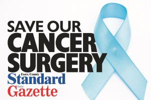 Save Our Cancer Surgery Campaign: Click here to sign the petition