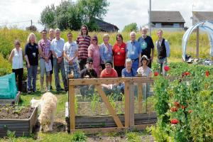 Gardeners want to grow membership and boost community plot