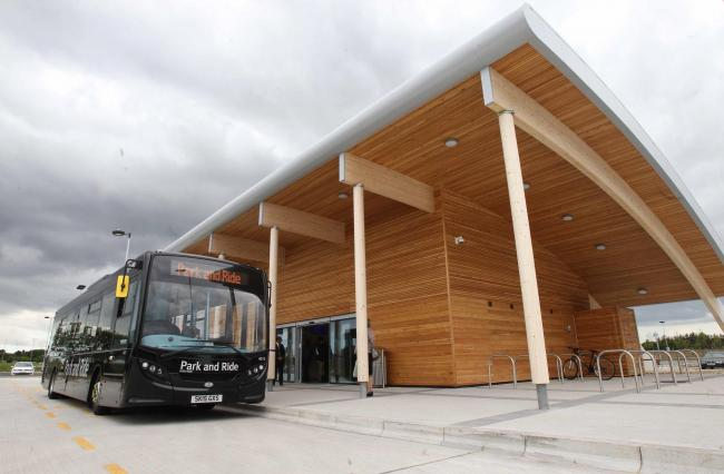 Shuttle bus between park and ride and hospital rejected