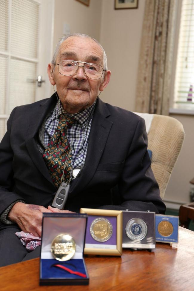 Colchester pensioner wins diabetes award