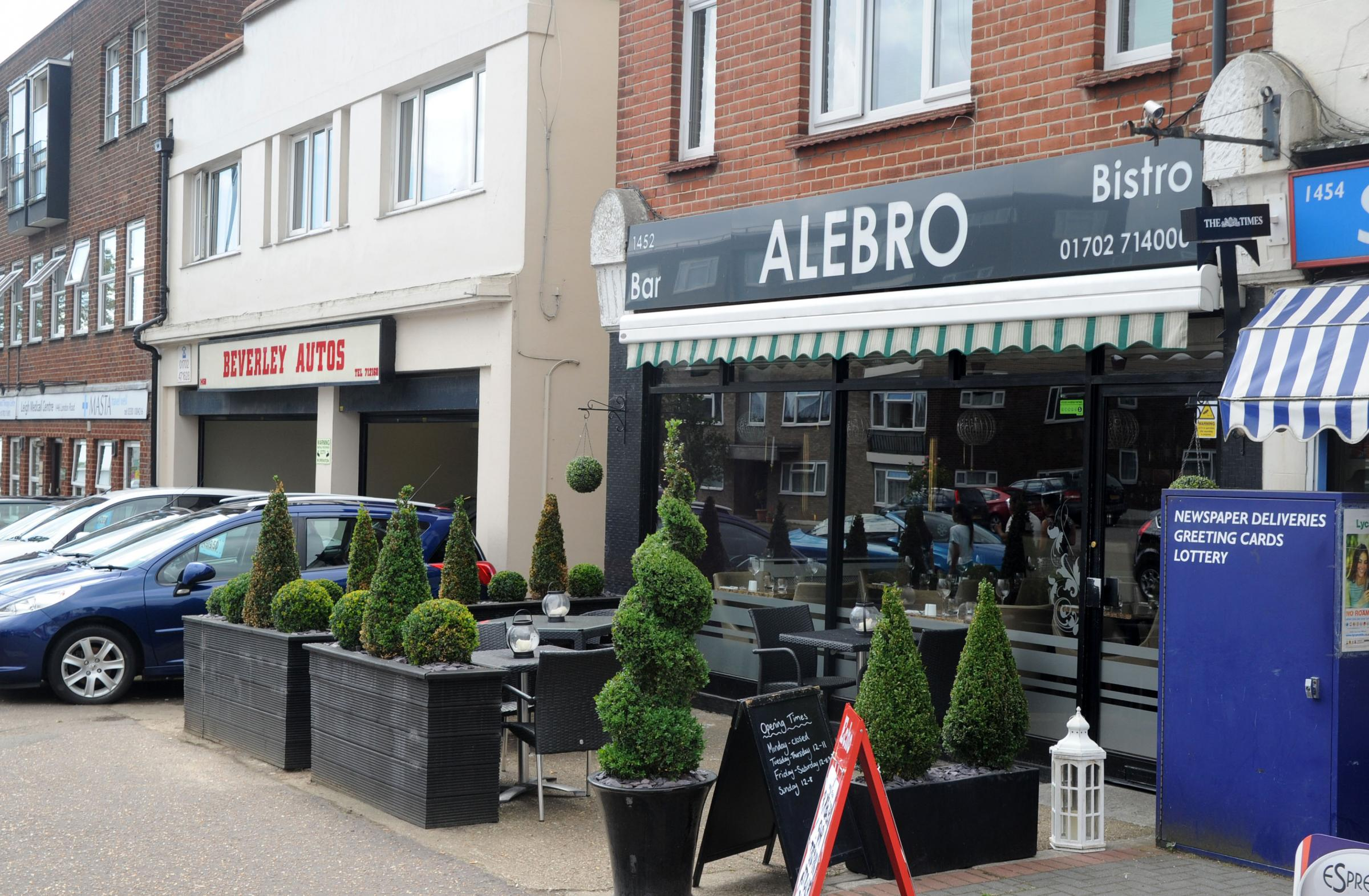 Alebro in London Road, Leigh