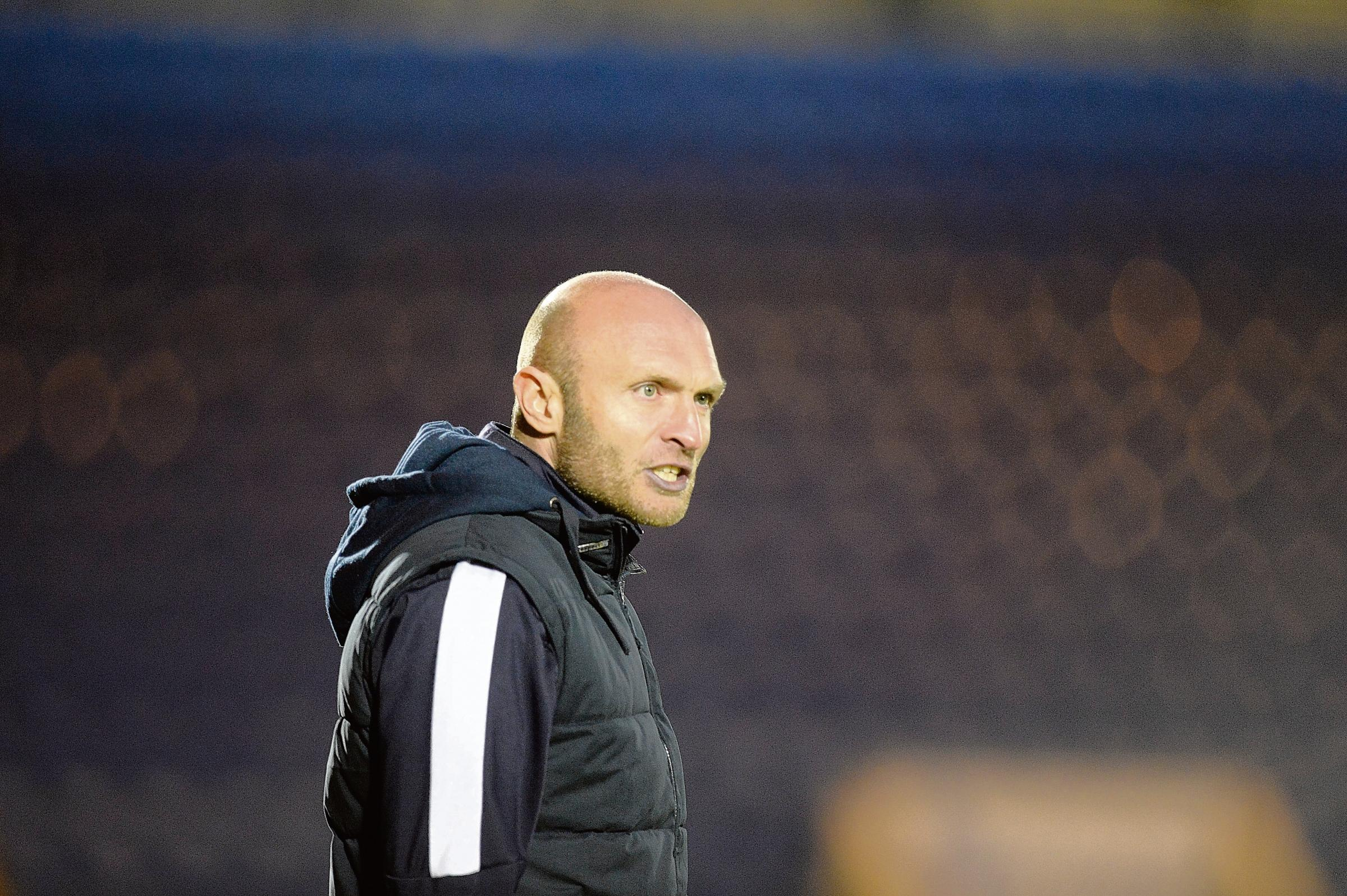 Time isn't right: Caretaker Wayne Brown doesn't want the Colchester United manager's job