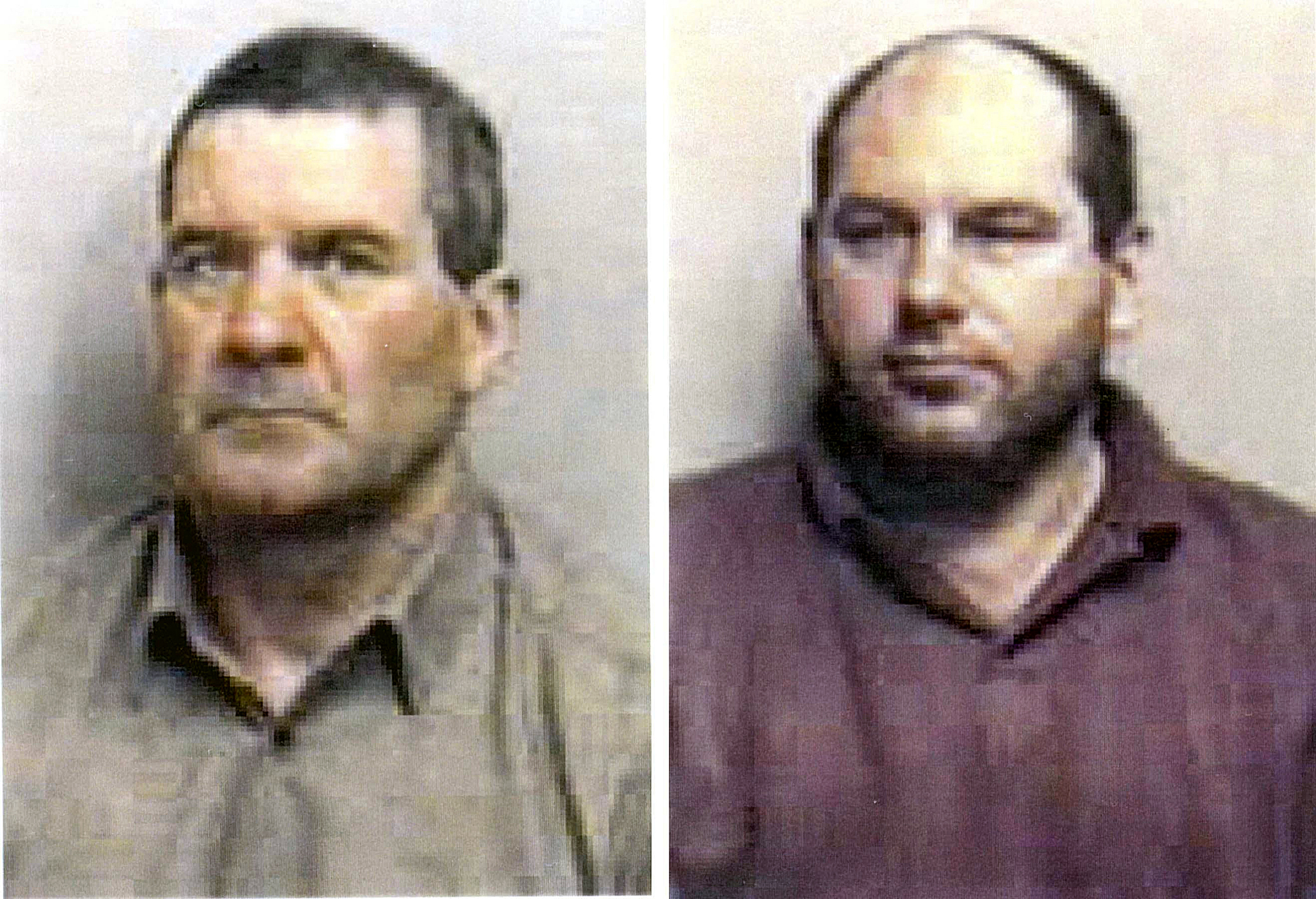Jailed - Michael Steele, left, and Jack Whomes, right. Picture: PA/Essex Police