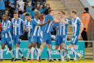 Plenty to play for - Colchester United's players will be on the lookout for League One points at Scunthorpe United tomorrow. Picture: STEVE BRADING (CO113473-016)