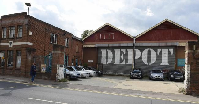 Bus depot could be demolished to make way for student flats.