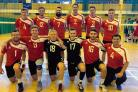 ON A MISSION: Tendring Volleyball Club's men's team have marched into the National Cup semi-finals and now face the might of reigning Super 8s champions and cup holders Team Northumbria. Chester Searle is number 17.