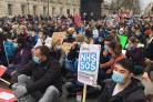 Junior doctors take protest to PM