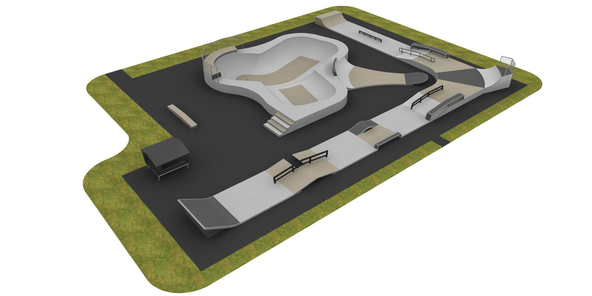 The winning design which will be built at Leisure World