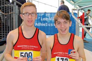 Braintree Athletic Club trio jump to Essex and Eastern glory