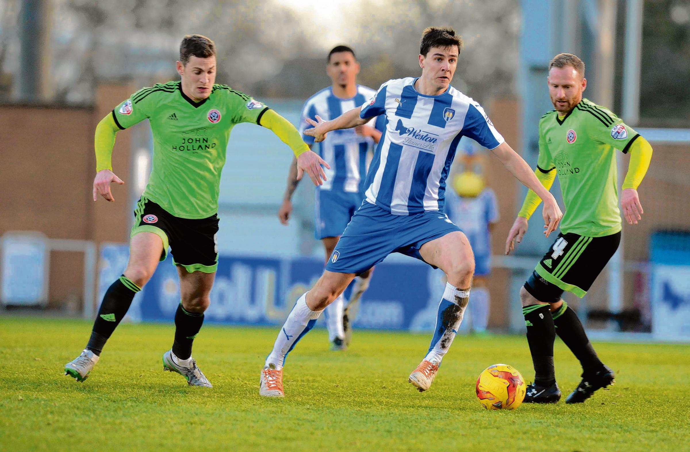 Leading the way - Owen Garvan has taken over as Colchester United captain for the