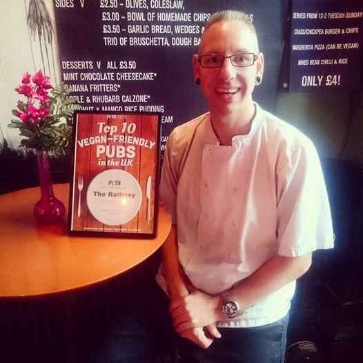 Derroll Glover - chef of the Railway Hotel in Southend