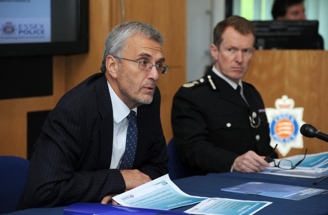 PCC Nick Alston and Chief Constable Stephen Kavanagh