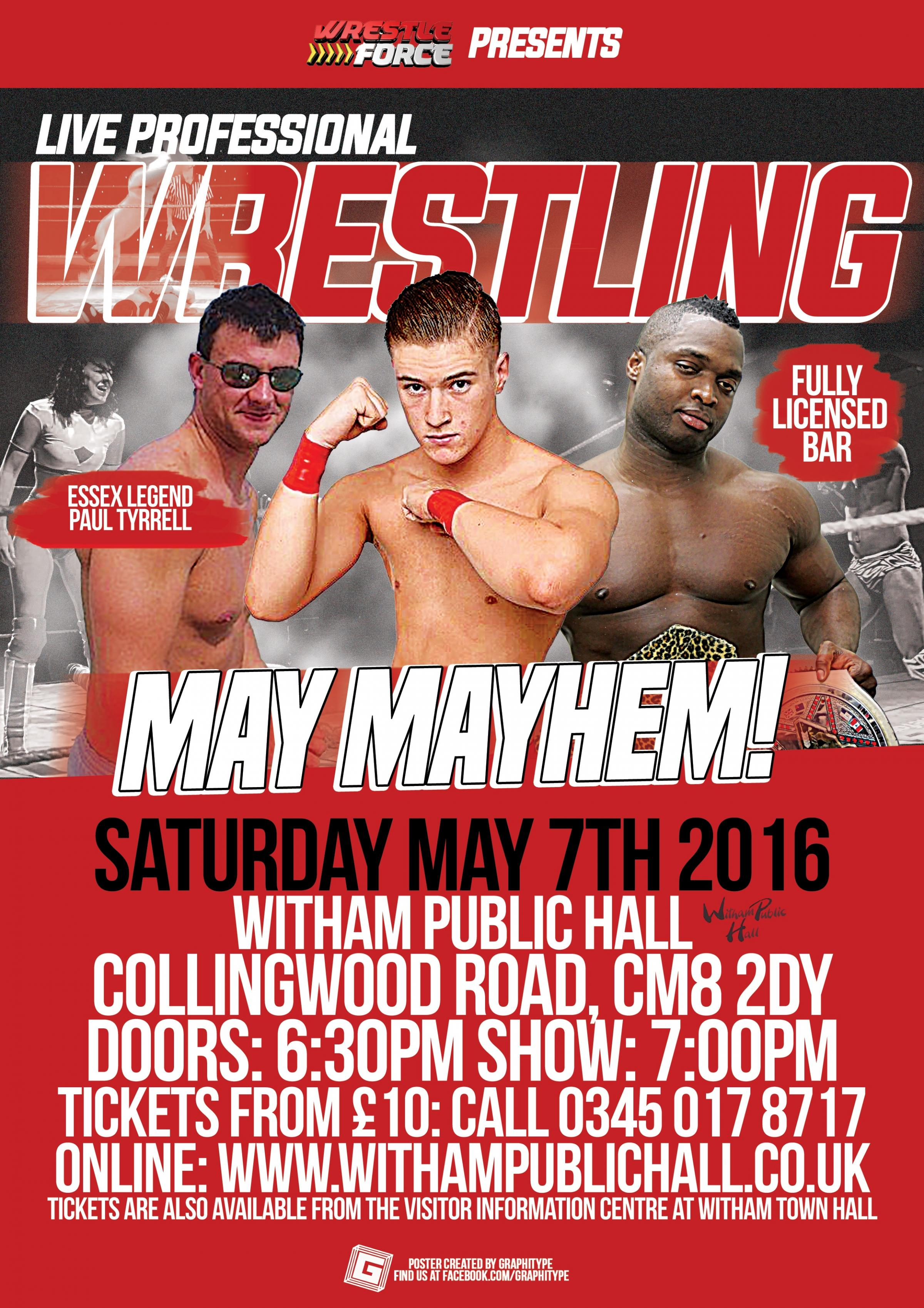 WrestleForce presents: May Mayhem 2016
