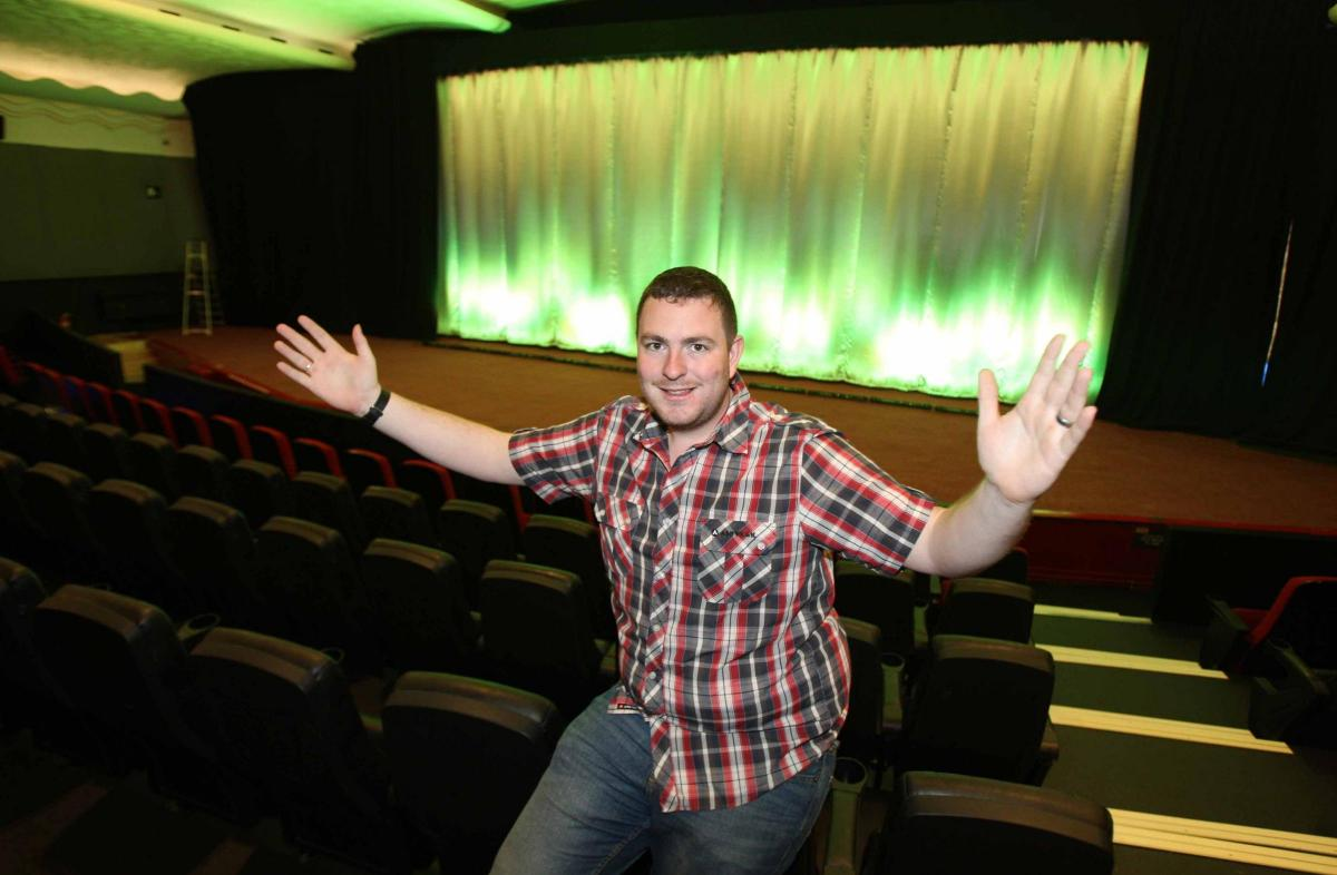 Film fans celebrate huge £500,000 revamp of Clacton's
