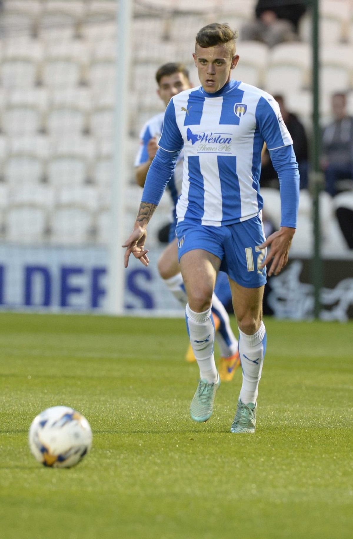 New deal - Sammie Szmodics has agreed a new three-year deal with Colchester United.