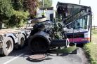 Lorry driver gets 18 months in jail after steam engine load crushed bus passengers