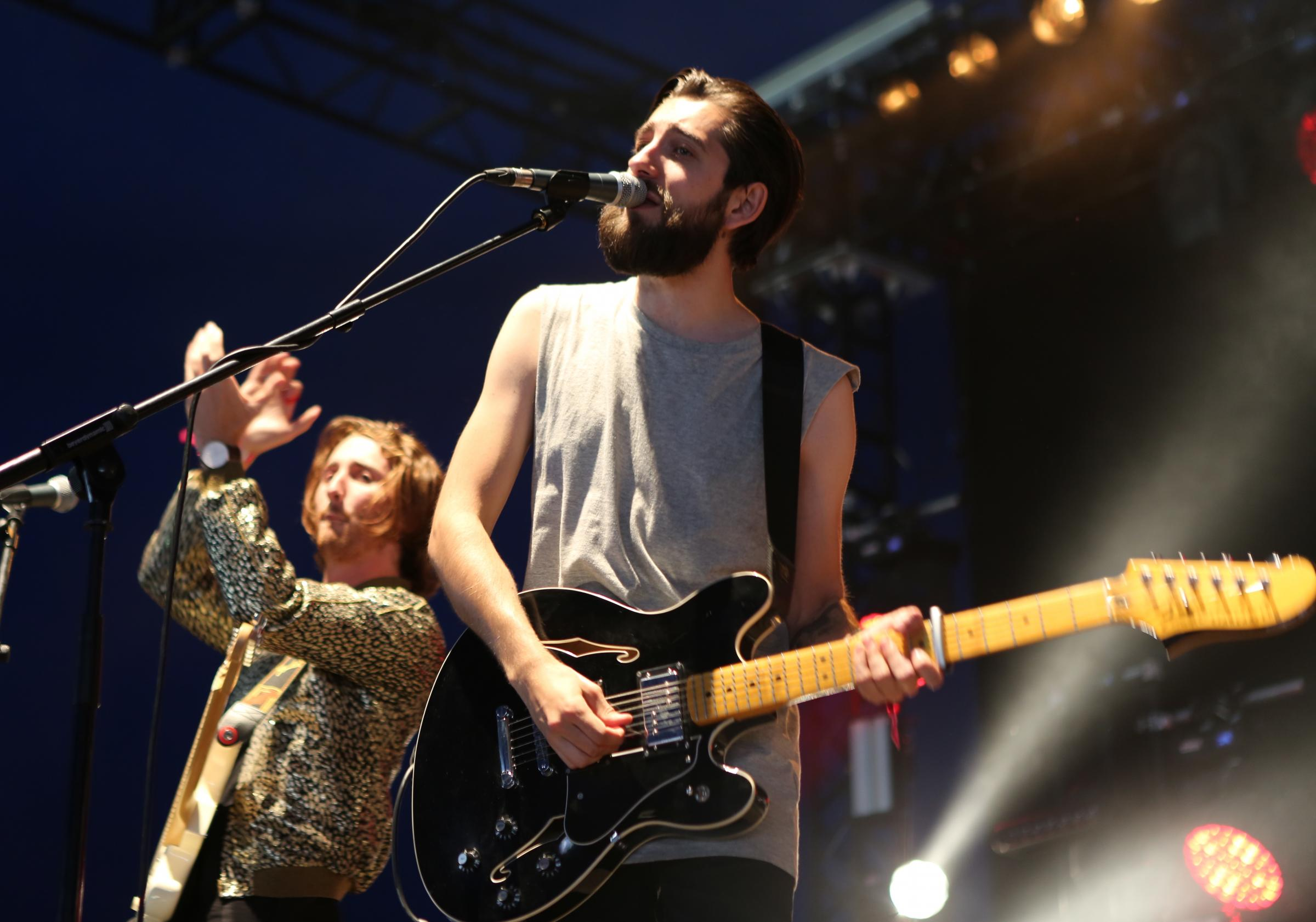 Eliza and the Bear performing at V Festival in Chelmsford