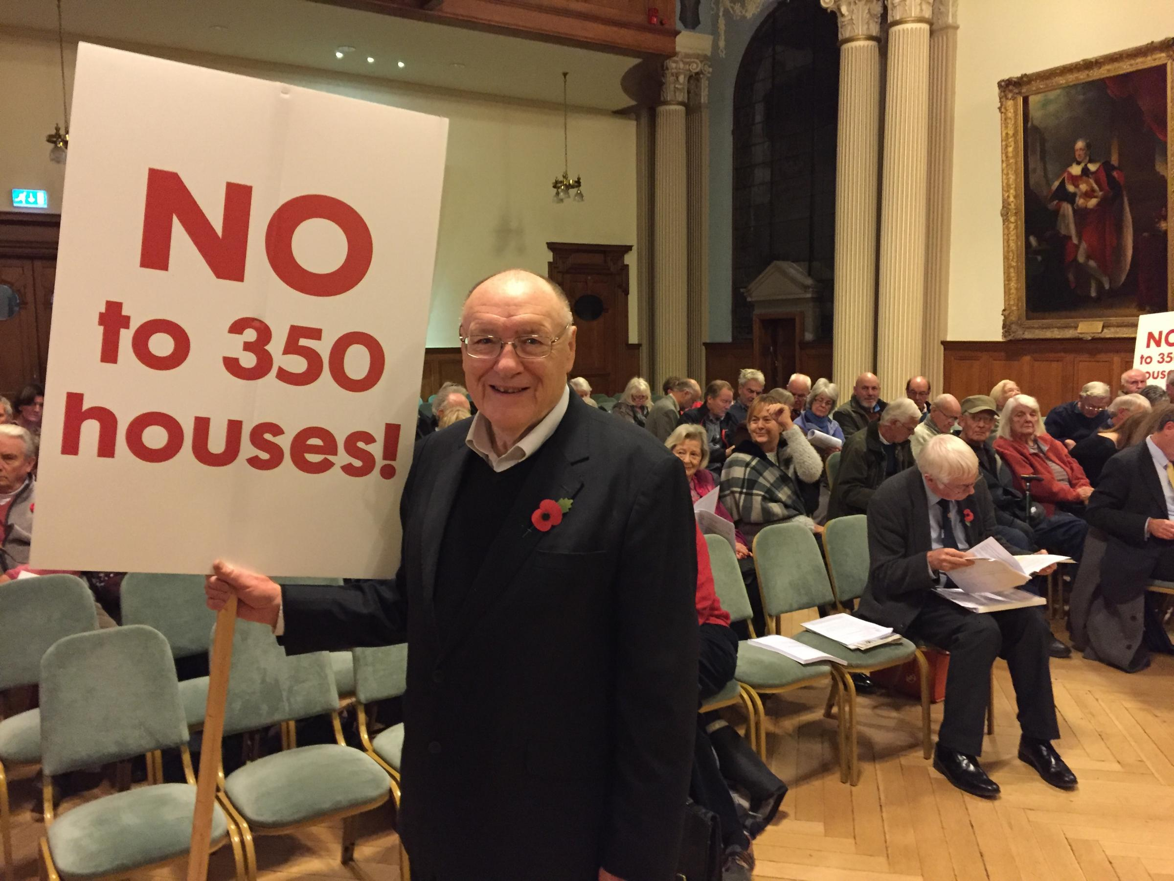 Campaigners descend on town hall to tell council: 'Your local plans is not fit for purpose'