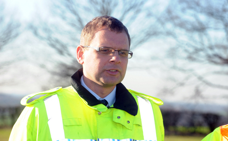 Figures - Adam Pipe, casualty reduction manager for Essex Police