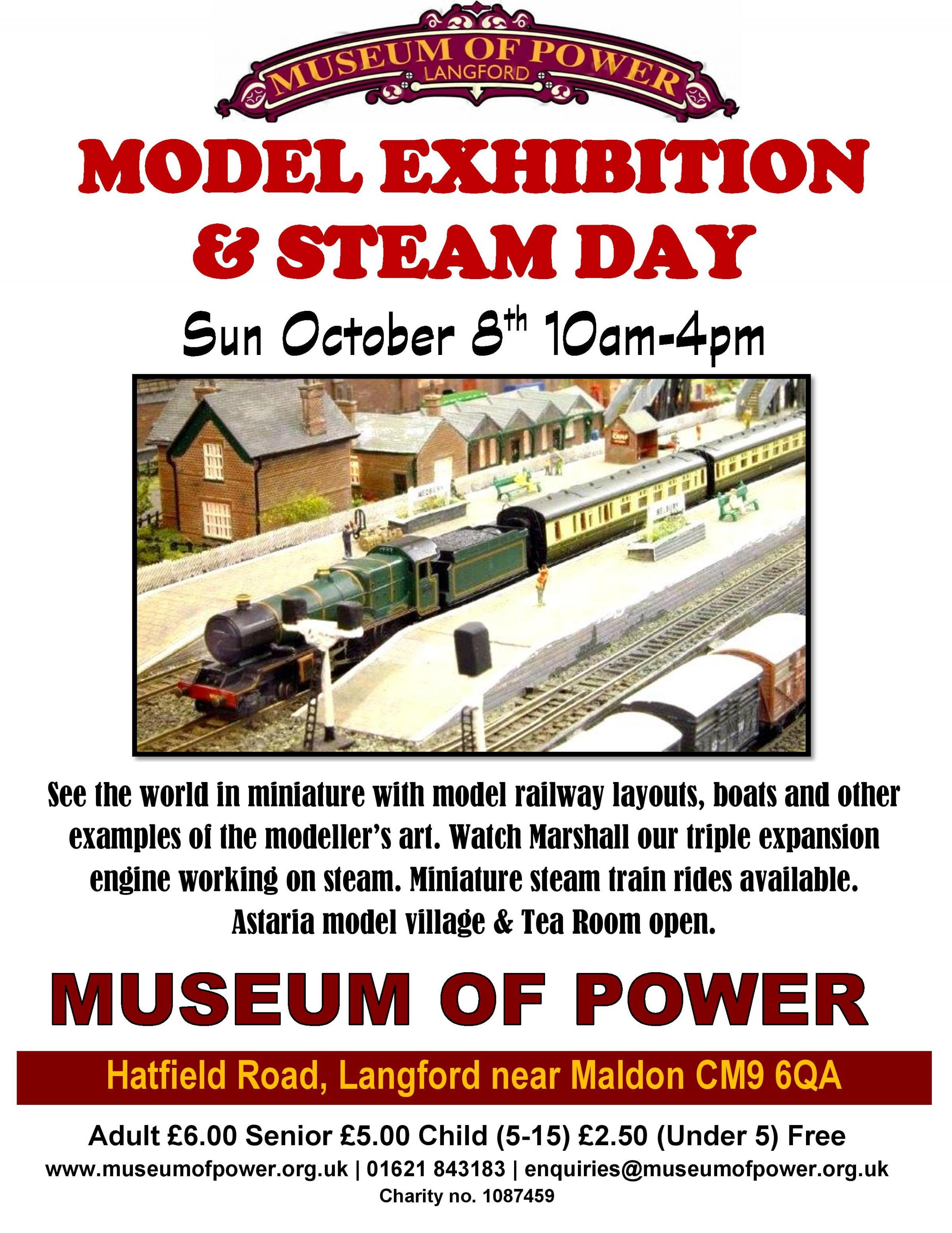 Model Exhibition & Steam Day