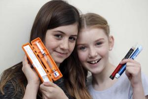 Ellie, 12, praised for taking to social media about using insulin pump for diabetes