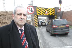 Anger as underpass traffic lights bid hits three month bump in the road