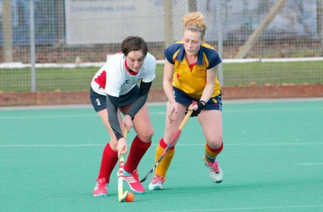 On the offensive - Colchester's Libby Knifton on the attack. Picture: ROBYNE WILDE.