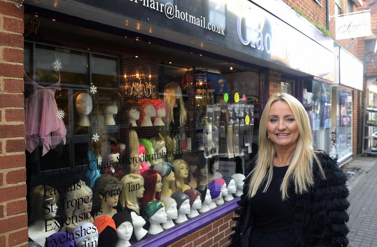 How Colchester s Ciao Bella is helping customers cope with trauma of hair  loss 32249f58d0