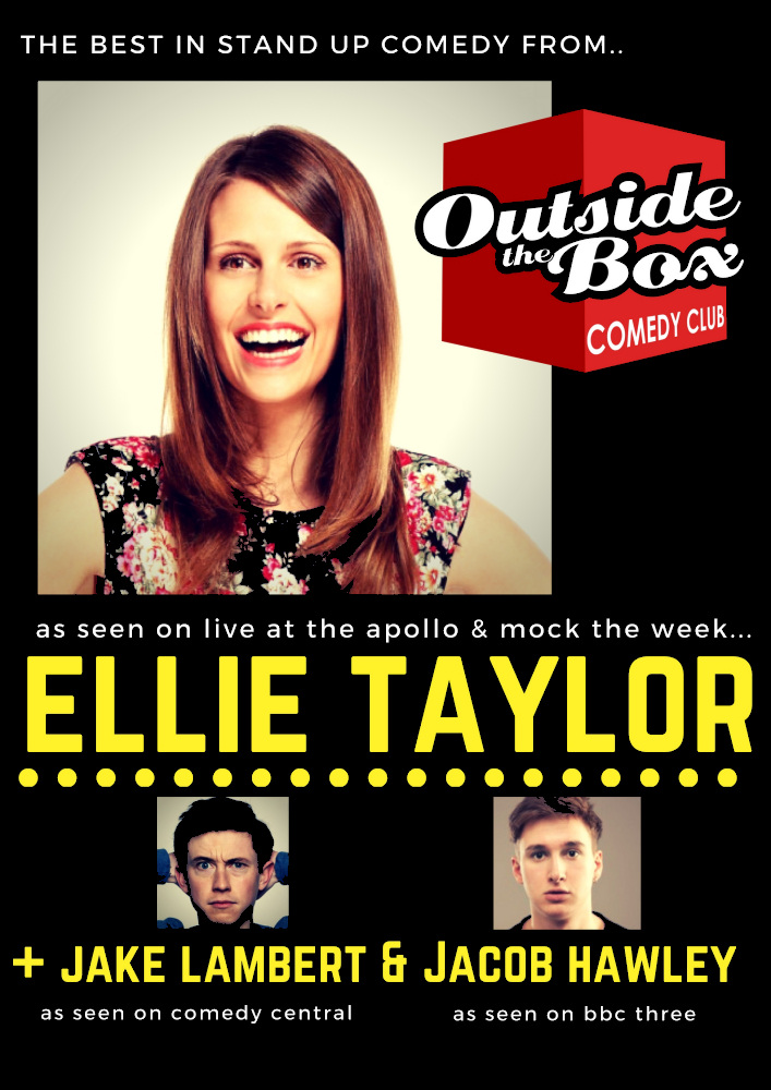 ELLIE TAYLOR Headlines Outside The Box Comedy