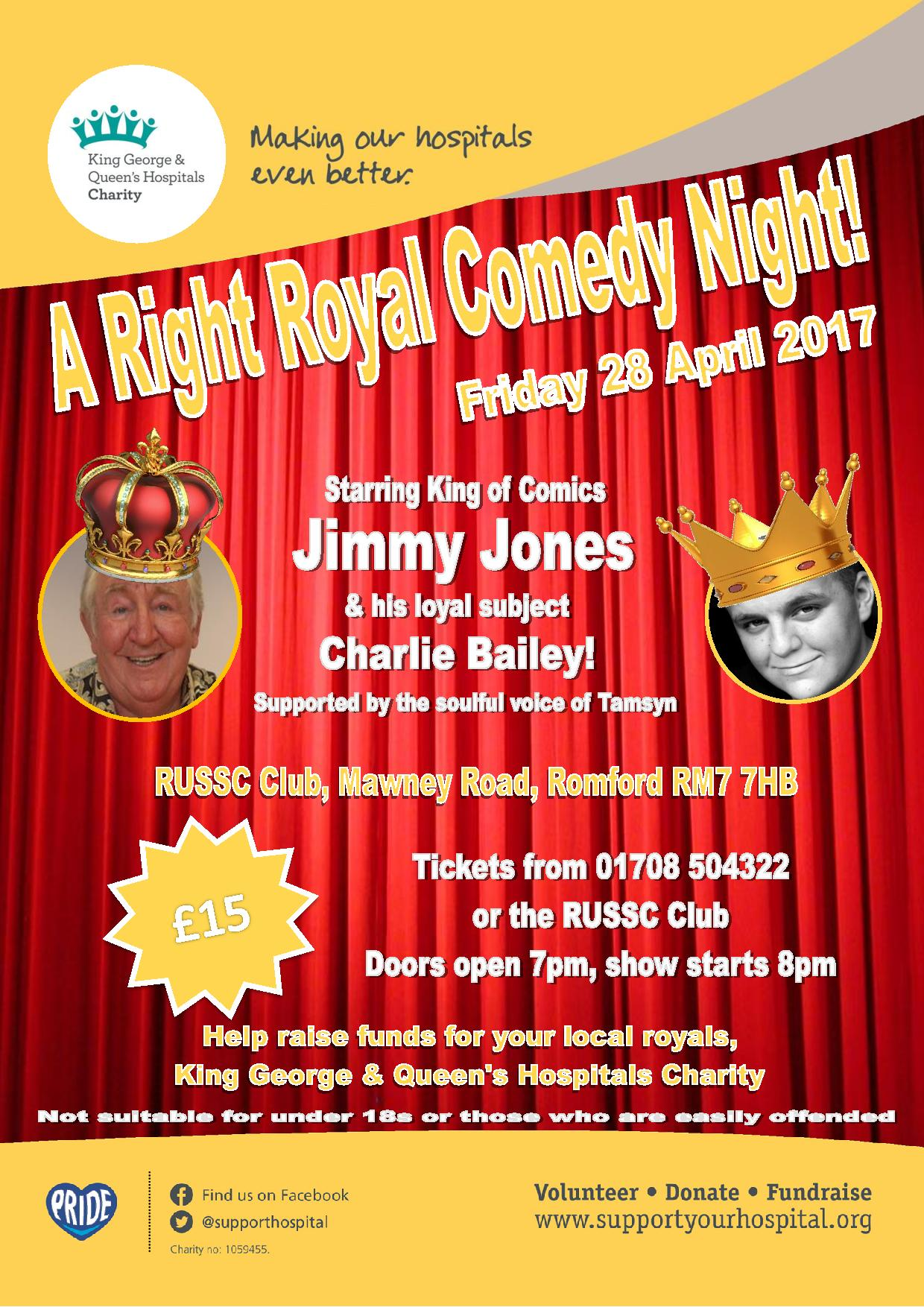 A Right Royal Comedy Night