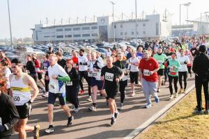 Popular - runners set off from the start line at last year's Colchester Half Marathon