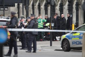 LIVE  Four dead as knifeman mows down pedestrians and stabs police officer at Westminster