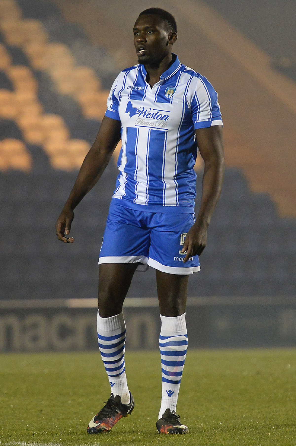 Pastures new - Jermaine Grandison has left Colchester United. Picture: RICHARD BLAXALL