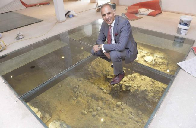 Suki Dulai- Flying trade boss reveals Roman treasure