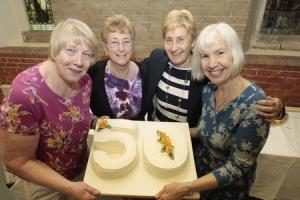 Celebration - chairman Moyra James, vice chairman Pam Brown and founding members Doreen Massey and June Mycroft